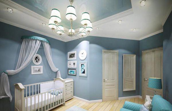 Общее освещение детской комнаты