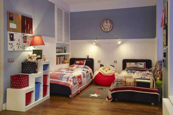 Настенные светильники в детской комнате