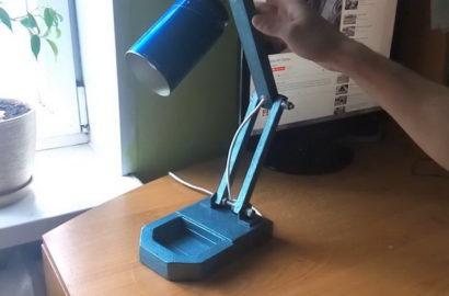 Изготовление настольной лампы