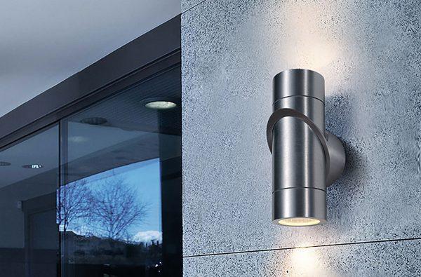 Светильники для подсветки фасада