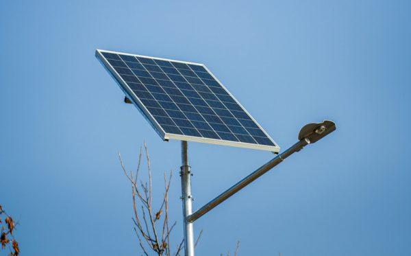 Светодиодный фонарь уличного освещения с солнечной батареей