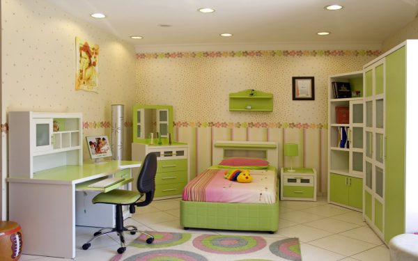 Точечные светильники для освещения детской