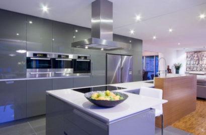 Использование точечных светильников для освещения кухни