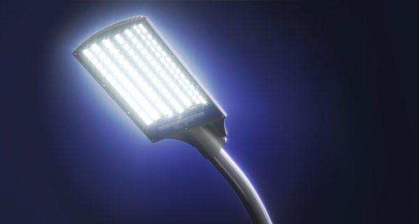 Уличный светодиодный фонарь консольного типа