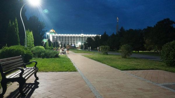 Правильное освещение повышает степень безопасности при прогулках в парке