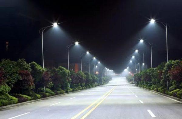 Освещение транспортной магистрали