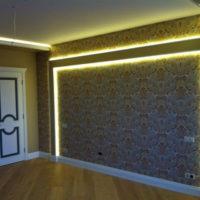 Освещение стен