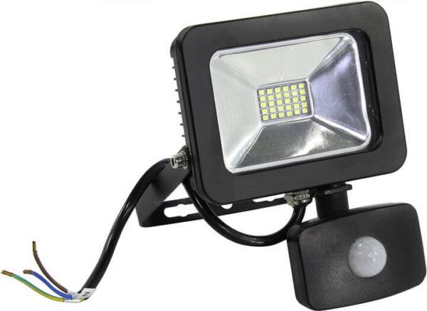 Прожектор с гладким отражателем и датчиком движения