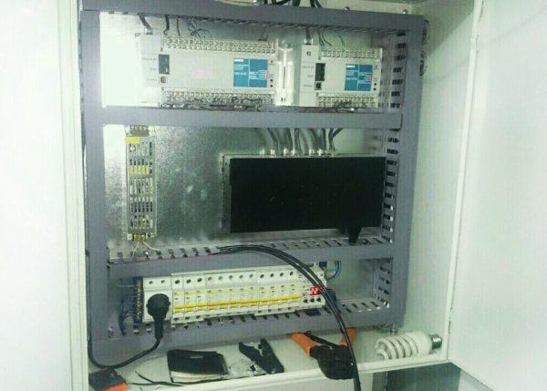 Шкаф для размещения оборудования для IP-видеонаблюдения