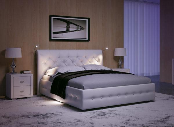 Крепление дополнительных светильников к спинке кровати