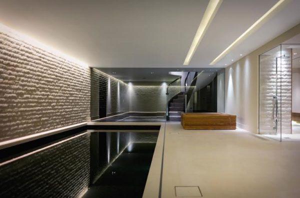 Использование светодиодных источников света для подсветки стен