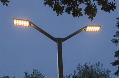 Уличные светодиодные светильники консольного типа