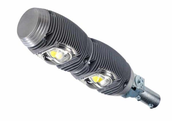 Для уличных LED светильников обычно используются диоды с желтым люминофором