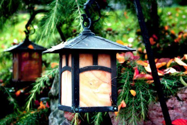 Наружные светильники должны иметь защиту от пыли и влаги