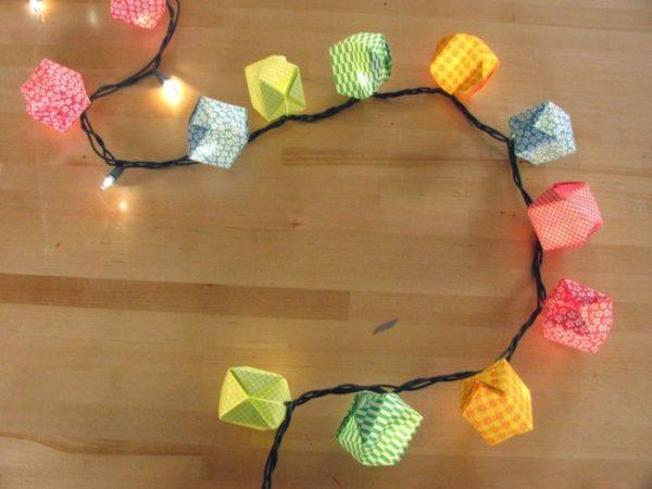 Из светодиодов можно сделать оригинальную новогоднюю гирлянду