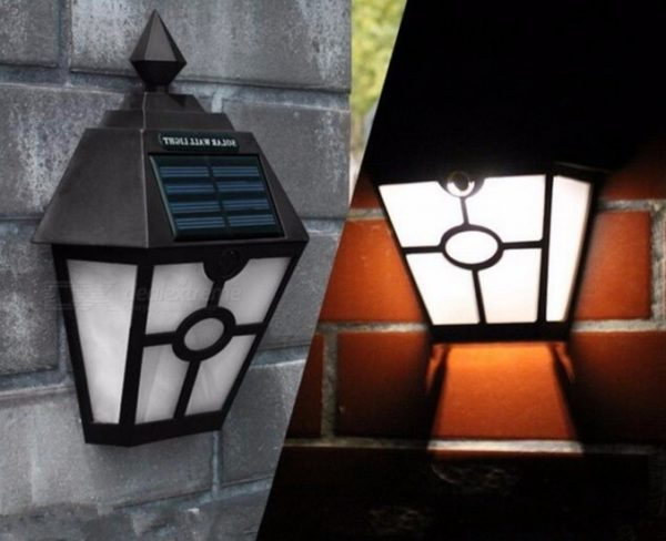 Настенные светильники для подсветки забора