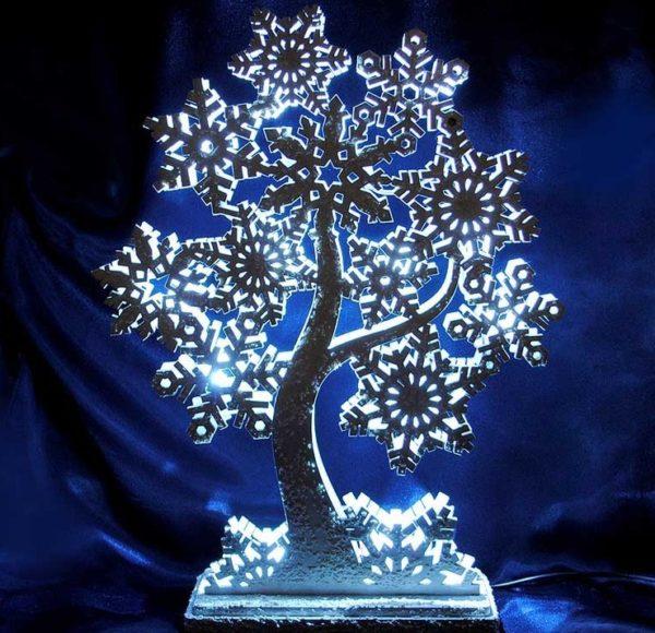Новогодний светильник Праздничное дерево