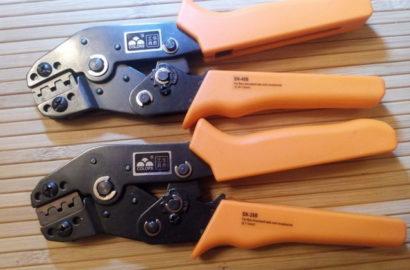 Инструмент для обжима наконечников