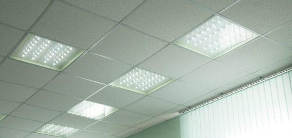Переход на светодиодное освещение в офисе