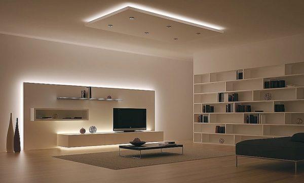 Подсветка мебели с помощью LED-ленты