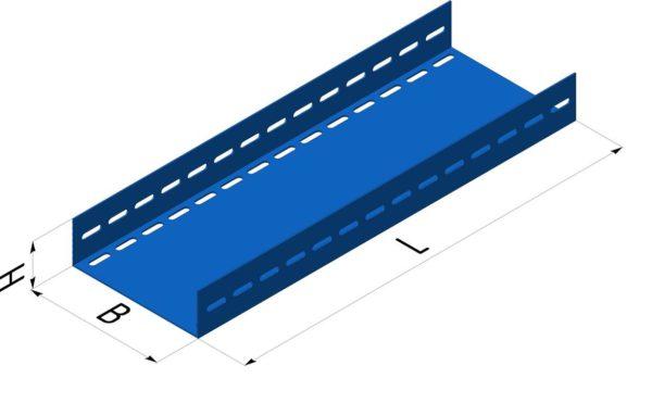 Профиль для прокладки проводов покрытый эмалью