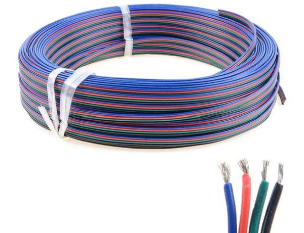 Электрический кабель для RGB гирлянды