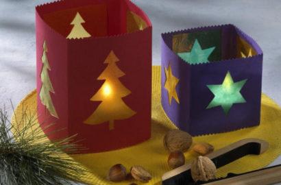 Светильники на Новый год
