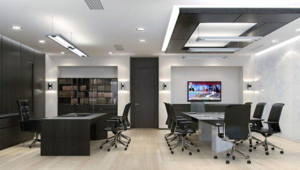 Система освещения офиса