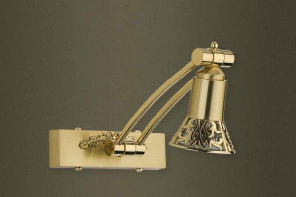 Точечный светильник для подсветки зеркала