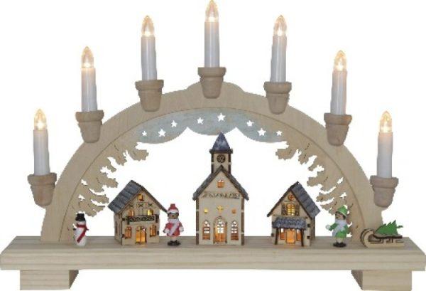 Светильник рождественская горка