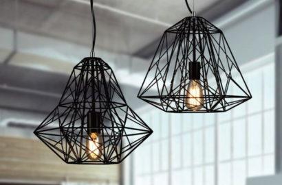 Люстры для помещения в стиле лофт