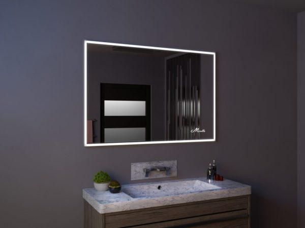 Фронтальная подсветка зеркала