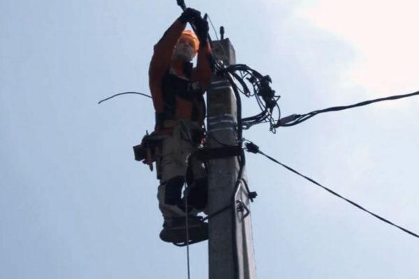 Облегченная проводка изолированного провода