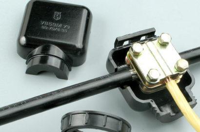 Подсоединение провода к кабелю