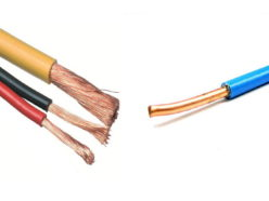 Виды электрических проводов
