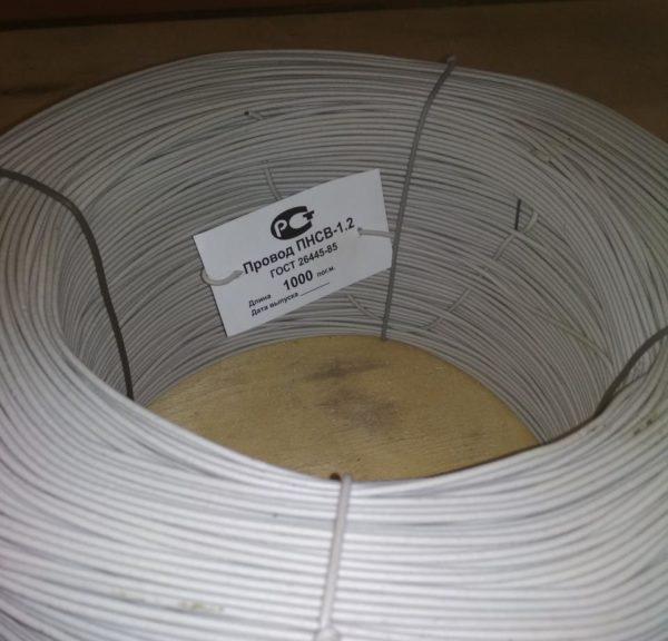 odnozhilnyj progrevochnyj kabel e1547633080486 600x576 - Теплый пол проводом пнсв