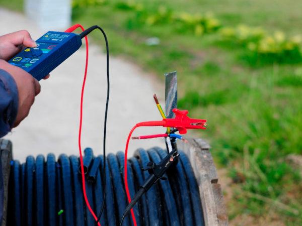 Проверка кабеля