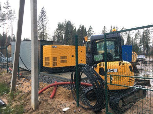Основное назначение КГН - временное подключение оборудования