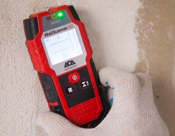 Использование сканера при электромонтажных работах