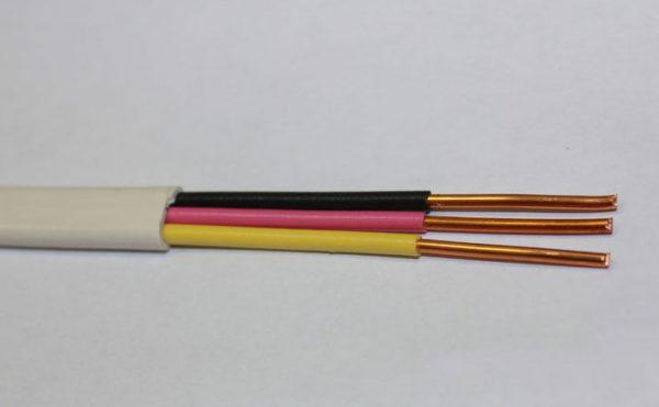 Рекомендуется использовать трехжильный медный кабель