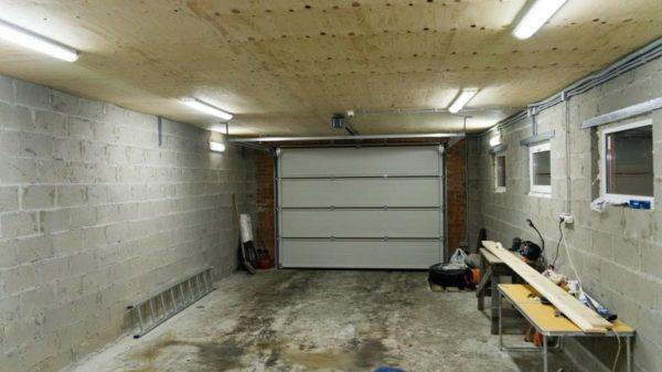 Как развести проводку в гараже схема