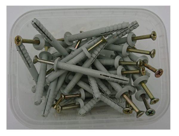 Дюбель-гвозди для плинтусов и пластиковых коробов