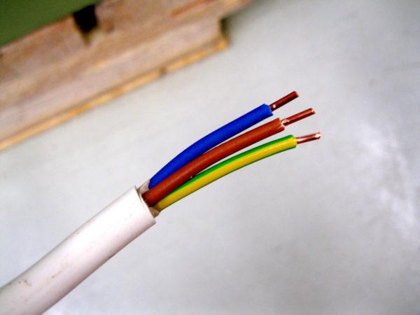 Цветовая маркировка кабеля