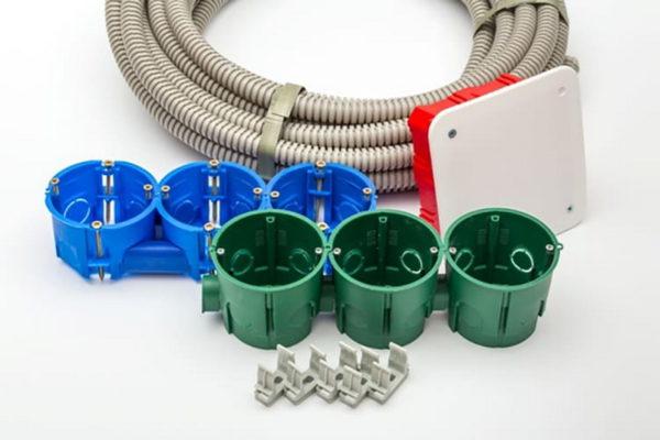 Материалы для монтажа проводки