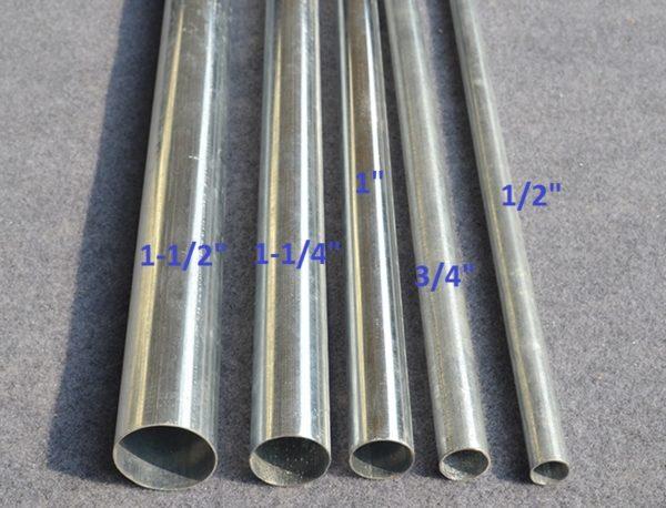 Металлические трубы для укладки кабеля