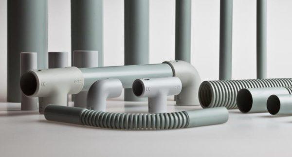 ПВХ трубы для прокладки кабеля