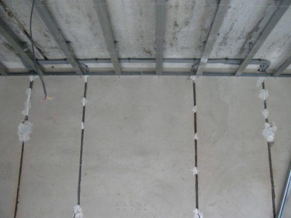 Штробы в гипсокартоне под проводку