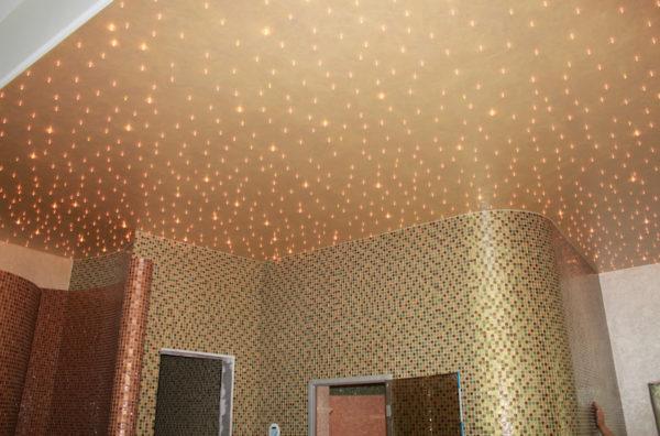 Светодиодное освещение с помощью токопроводящих панелей