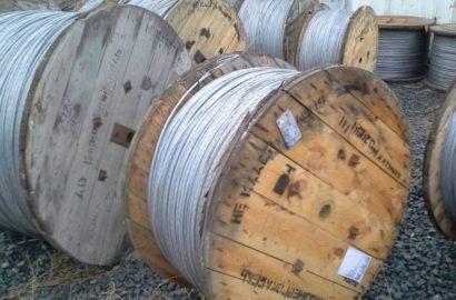 Алюминиевый кабель со стальным сердечником