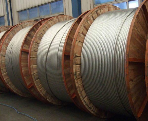 Хранение провода АС на деревянных барабанах